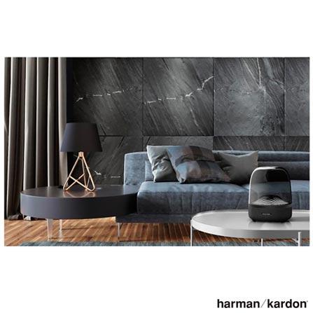 Caixa de som Portátil Aura Studio3 com Bluetooth Harman Kardon Preto - HKAURAS3BLKBR