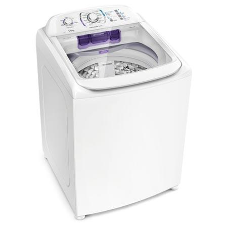 Lavadora de Roupas Electrolux 14kg Premium Care Branca com 12 Programas de Lavagem - LPR14