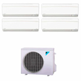 Ar Condicionado Multi Split Hi-Wall Inverter Daikin com 4x 12.000 BTUs, Quente e Frio, Turbo Branco