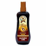 Australian Gold Intant Bronzer FPS 15 Spray Gel - Protetor Solar 237ml