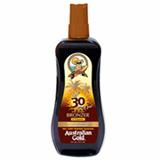 Australian gold Intant Bronzer FPS 30 Spray Gel - Protetor Solar 237ml
