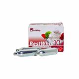 Ampola de Gas para Garrafa de Chantilly com 10 Unidades - Best Whip