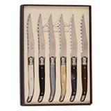 Conjunto de facas em Aco Inox