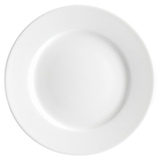 Prato Branco em Porcelana