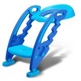 Redutor de Assento Step Potty com Escada Azul BB051 - Multikids Baby