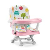 Cadeira De Alimentacao Portatil Frutinhas Rosa - Multikids Baby