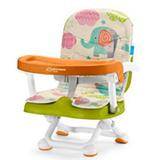 Cadeira De Alimentacao Portatil Animais Verde - Multikids Baby