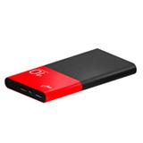 Power Bank 10.000mAh com Cabo Micro USB ELG Preto e Vermelho - PB100RDAL