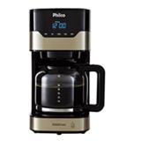 Cafeteira Philco Touch para po de cafe Champagne com Preto - PCFD38CH