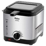 Fritadeira Eletrica Philco 1,8L Deep Fry Inox Prata