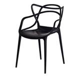 Kit 3 Cadeiras Allegra Preta