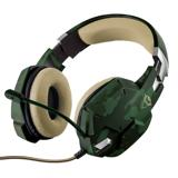 Headset Gamer PS5 Xbox X Switch PC Note GXT322C Jungle Trust