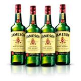 Kit Whisky Jameson 750ml - 4 Unidades