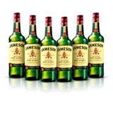 Kit Whisky Jameson 750ml - 6 Unidades