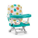 Cadeira De Alimentacao Portatil Monstrinhos Azul - Multikids Baby