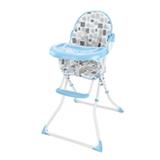 Cadeira Alta de Alimentacao Slim Leaozinho Azul - Multikids Baby