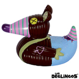 Pato de Banho Ratos, o Rato Les Deglingos - T-14-004