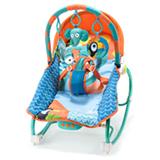 Cadeira de Balanco para Bebes 0 a 20 kg Elefante - Multikids Baby