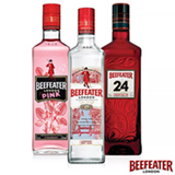 Kit Gin Beefeater Dry + Gin Beefeater Pink + Gin Beefeater 24 750ml