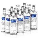 Vodka Absolut Original 1L - 12 Unidades