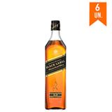 Whisky Johnnie Walker Black Label 750ml - 06 Unidades
