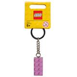 852273 - LEGO Chaveiro - Bloco Rosa de LEGO