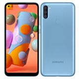 Samsung Galaxy A11 Azul, com Tela de 6.4,2GB, 64GB e Camera Tripla Traseira de 13MP + 5MP + 2MP - A115
