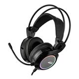 Headset Gamer Warrior Thyra RGB 7.1 com Vibracao Preto - PH290