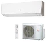 Ar Condicionado Split Fujitsu Hi-Wall Inverter com 9.000 BTUs, Quente e Frio, Sensor de Presenca, Branco - ASBG09LMCA-BR