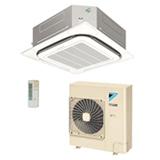 Ar Condicionado Split Cassete Inverter SkyAir Daikin com 31.000 BTUs, Quente e Frio, Turbo Mode Branco - SCQ30AVL