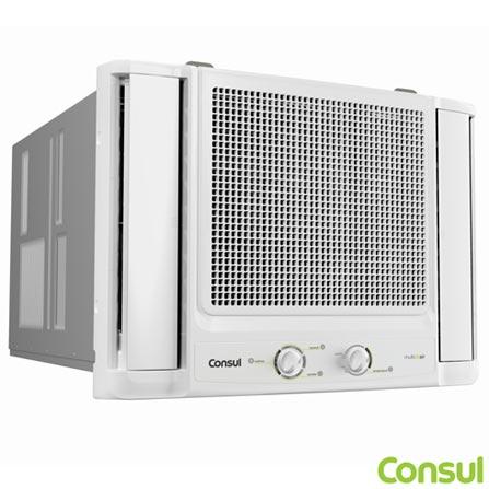 Ar Condicionado Janela Consul Com 7500 Btus Quente E Frio Branco