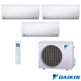 Ar Condicionado Multi Split Hi Wall Inverter Daikin com 3 x 12.000 BTUs, Quente e Frio, Branco - FTXS35KVM