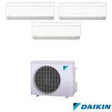 Ar Condicionado Multi Split Hi-Wall Inverter Daikin com 3x 12.000 BTUs, Quente e Frio, Turbo, Branco - FTXS35KVM