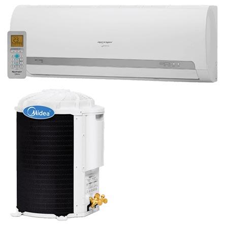 Ar Condicionado Split Hi-Wall Springer Midea com 9.000 BTUs, Quente e Frio, Turbo, Branco