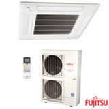 Ar Condicionado Split Cassete Fujitsu com 45.000 BTUs, Quente e Frio, Branco - AUBG54LRLA