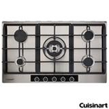Cooktop a Gas Cuisinart Casual Cooking em Inox com 05 Bocas, Acendimento Automatico - P950STXL