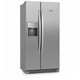 Frost Free, Dispenser de Agua, Dispenser de Gelo, Painel Eletronico, 07 Prateleiras e 02 Gavetas