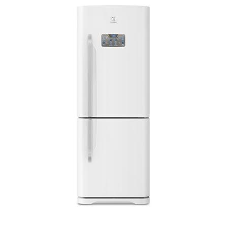 Refrigerador Bottom Freezer Electrolux de 02 Portas Frost Free com 454 Litros Painel Blue Touch Branco - DB53
