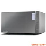 Micro-ondas Brastemp com 32 Litros, Porta Espelhada e Grill Inox - BMG45AR