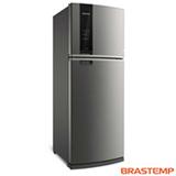 Refrigerador de 02 Portas Brastemp Frost Free com 462 Litros com Turbo Control Inox - BRM56AK