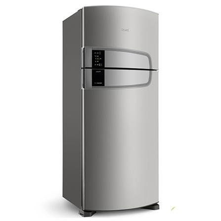 Refrigerador de 02 Portas Consul Frost Free com 405 Litros e Filtro Bem Estar Inox - CRM51AK