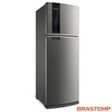 Refrigerador de 02 Portas Brastemp Frost Free com 500 Litros com Turbo Control Inox - BRM57AK