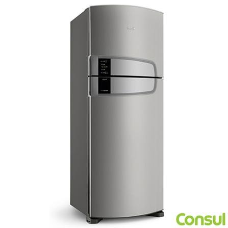 6adfa5c8efb9 Refrigerador de 02 Portas Consul Frost Free com 437 Litros e Filtro Bem  Estar Inox - CRM55AK