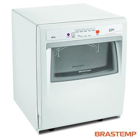 Lava-Loucas Brastemp Ative! Branca com 08 Servicos, 05 Programas de Lavagem e Ciclo Pesado - BLF08AB