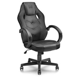 Cadeira Gamer Warrior com Funcao Basculante 15 Preta - GA182