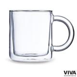 Caneca Classic Clear para Cha com Parede Dupla em Vidro 380ml - Viva Scandinavia