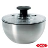 Lava e Seca Saladas em Aco Inox - Oxo
