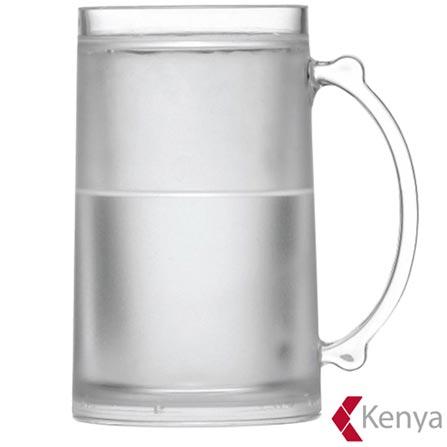 Caneca New Frosty para Cerveja em Acrilico 470ml - Kenya