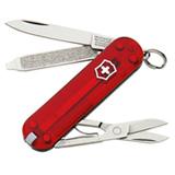 Canivete Blister Classic SD com 07 Funcoes em ABS e Celidor Vermelho Translucido - Victorinox