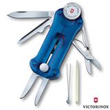 Canivete GolfTool com 10 Funcoes em Poliamida Azul Translucido - Victorinox